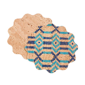 Etnia Cork Set of Coasters