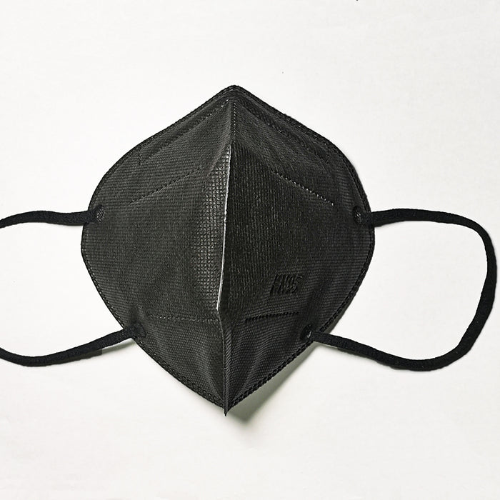 Black,Grey, Dark Blue KN95 FFP2 Face Masks, NB0598 CE Qualified Disposable Respirator 5 Layers Mask