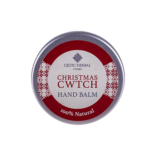 Celtic Herbal - Christmas Cwtch Hand Balm with Spiced Orange & Clove 25g