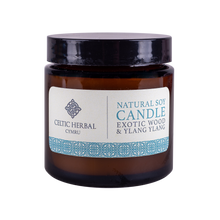 Load image into Gallery viewer, Natural Exotic Wood & Ylang Candle - Natural Soy Candle