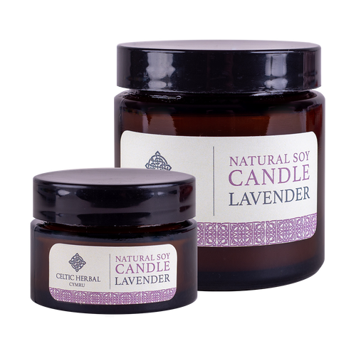 Celtic Herbal - Lavender Natural Soy Candles