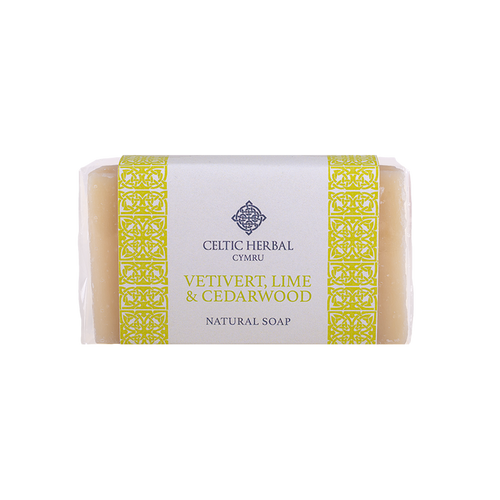 Celtic Herbal - Vetivert, Lime & Cedarwood Soap 100g