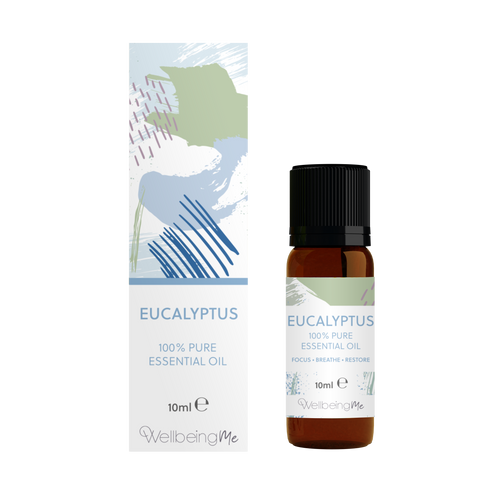WellbeingMe - Eucalyptus - Pure Essential Oil 10ml