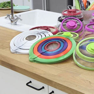 Vacumber - Vacuum Sealing Food Lids