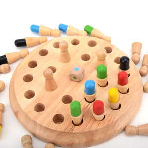 Memory Match - Wooden Memory Game