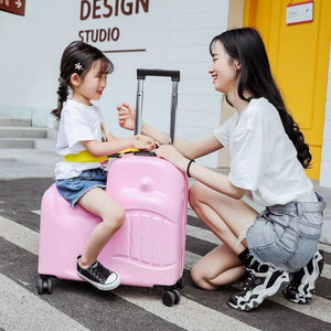 TravelBuds Ride-On Suitcase