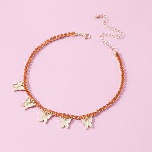 Zirsan- Butterfly Choker Necklace