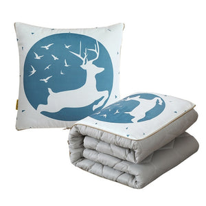 Napbud-2-In-1 Foldable Pillow Blanket