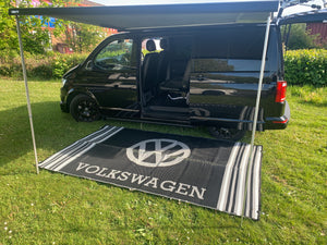 VW Mat - Black/Grey