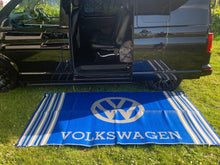 Load image into Gallery viewer, VW Mat - Blue/Grey