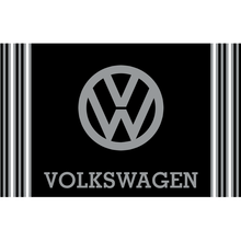 Load image into Gallery viewer, VW Mat - Black/Grey