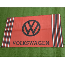 Load image into Gallery viewer, VW Mat - Red/Black