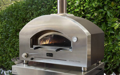 Gas Fired Pizza Ovens