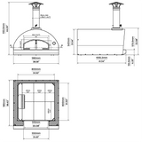 Marinara Wood Fired Pizza Oven