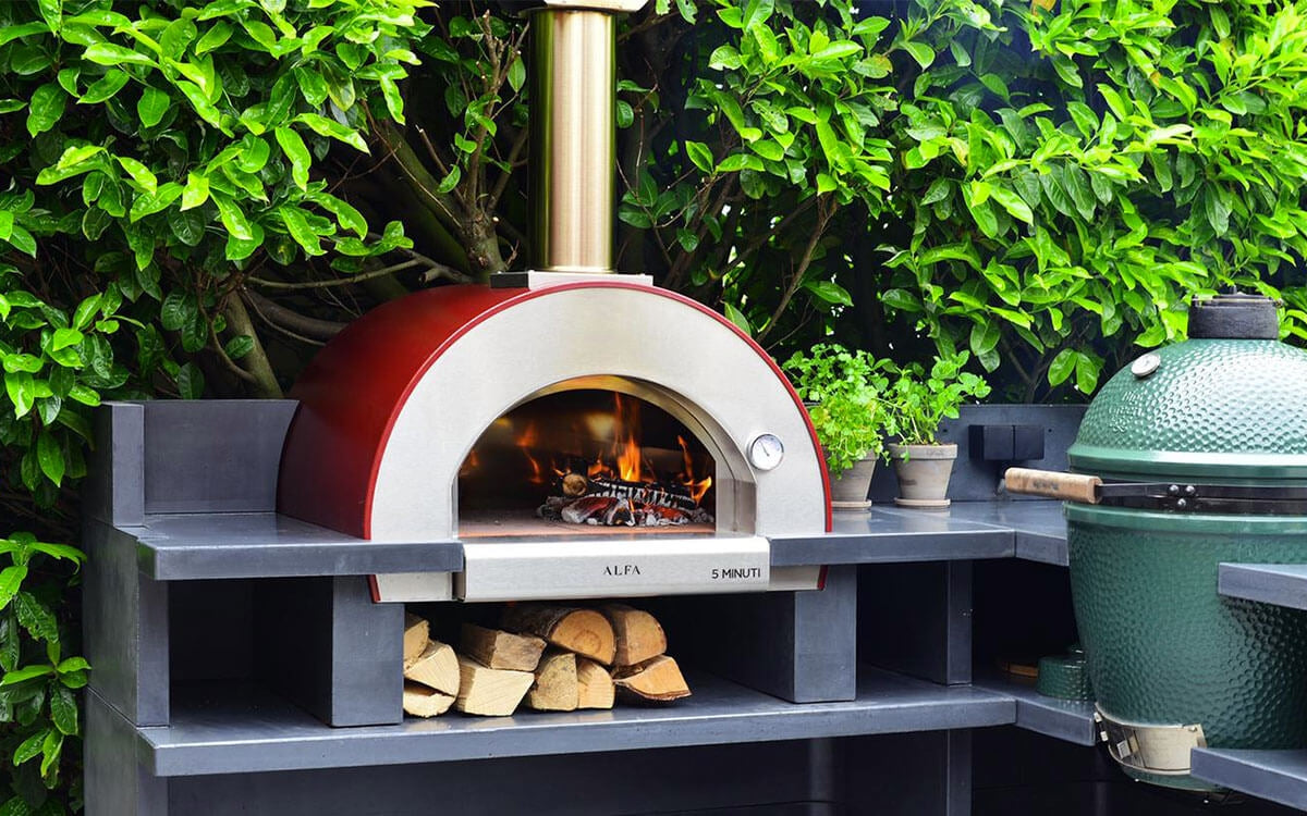 Italian Outdoor Pizza Oven