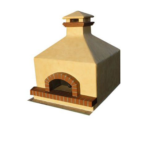 Forno Bravo Toscana Hipped Gas Pizza Oven