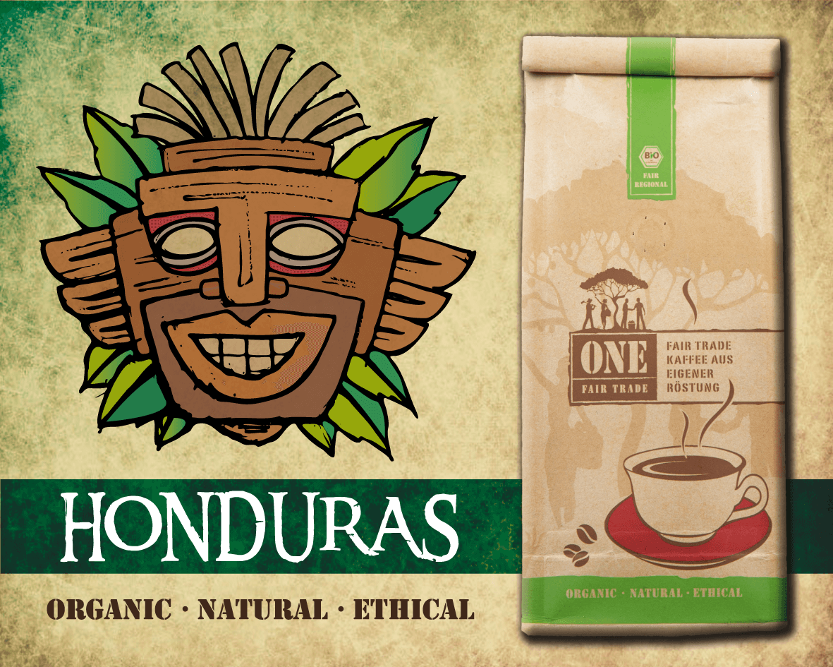 Fair-Trade Bio Kaffee | HONDURAS Arabica Kaffeebohnen