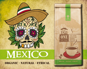 Bio Fair-Trade Arabica Kaffee | MEXIKO
