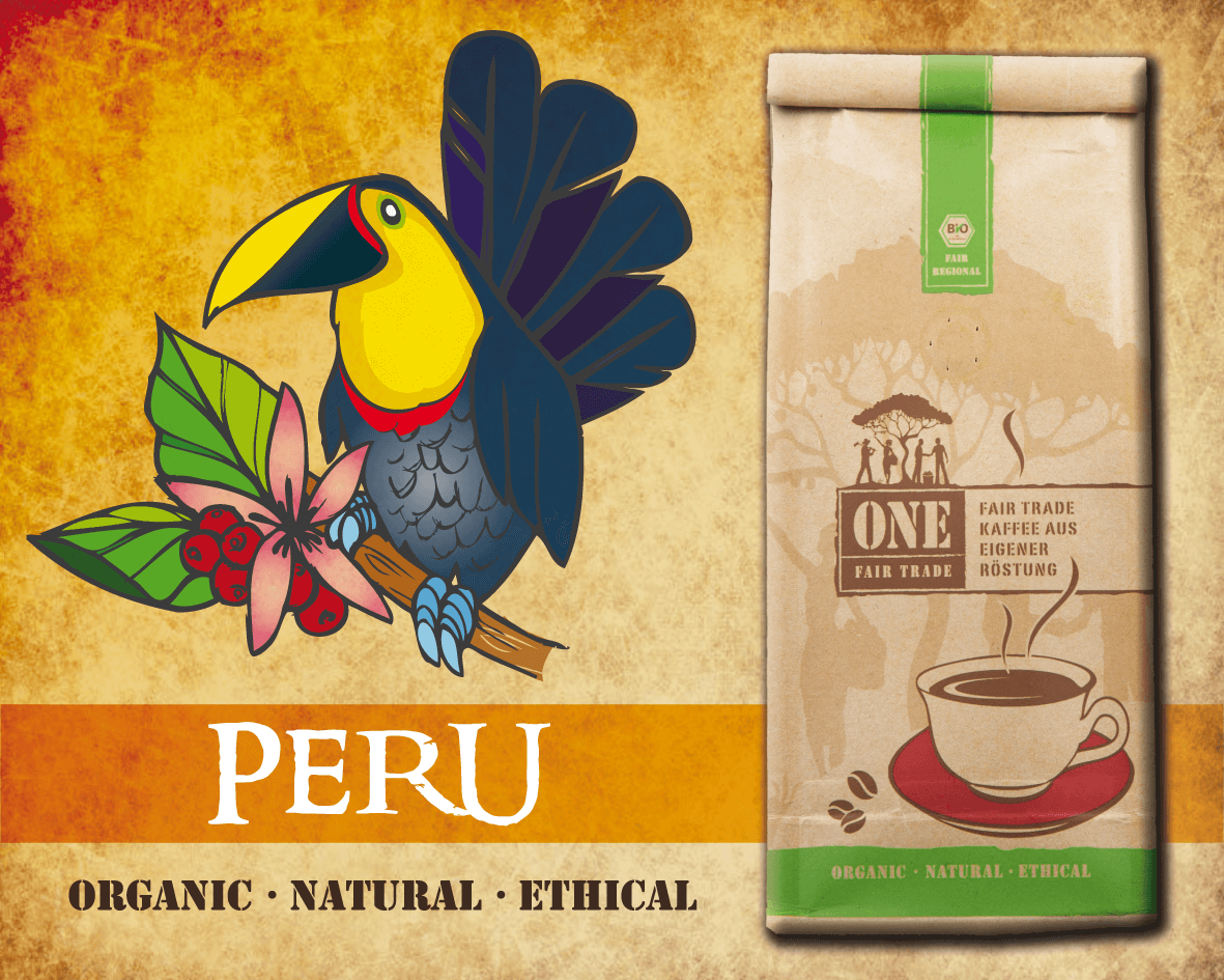 Bio Fair-Trade Arabica Kaffee | PERU