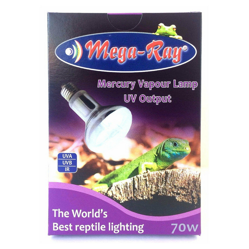 Mega Ray Mercury Vapor Bulbs