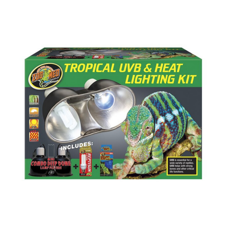 Tropical UV-B & Heat Lighting Kit