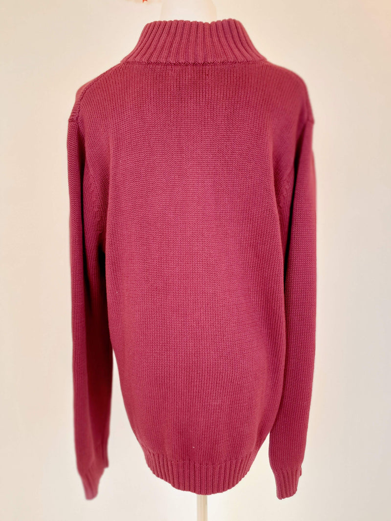 Land's End Maroon Jacket (Large)
