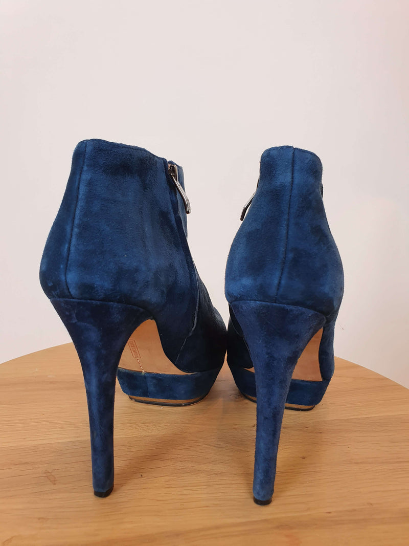 Vince Camuto Teal Blue Booties