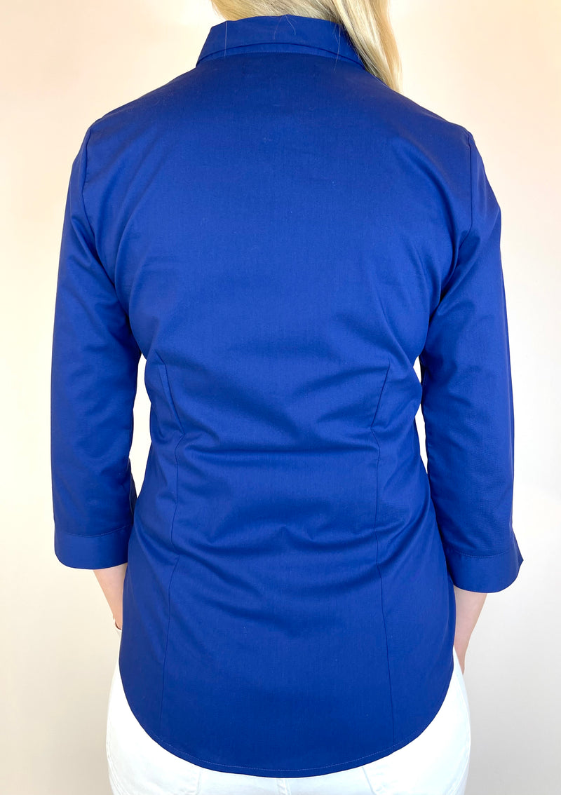 Marks & Spencer Rich Blue Top (Small)