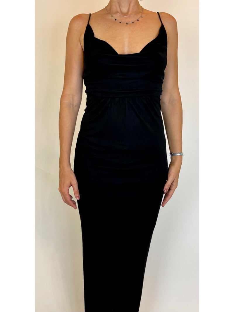 Bardot evening dress (Medium)