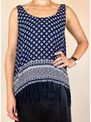 Forever 21 Womens Navy Blue Vest (Medium)