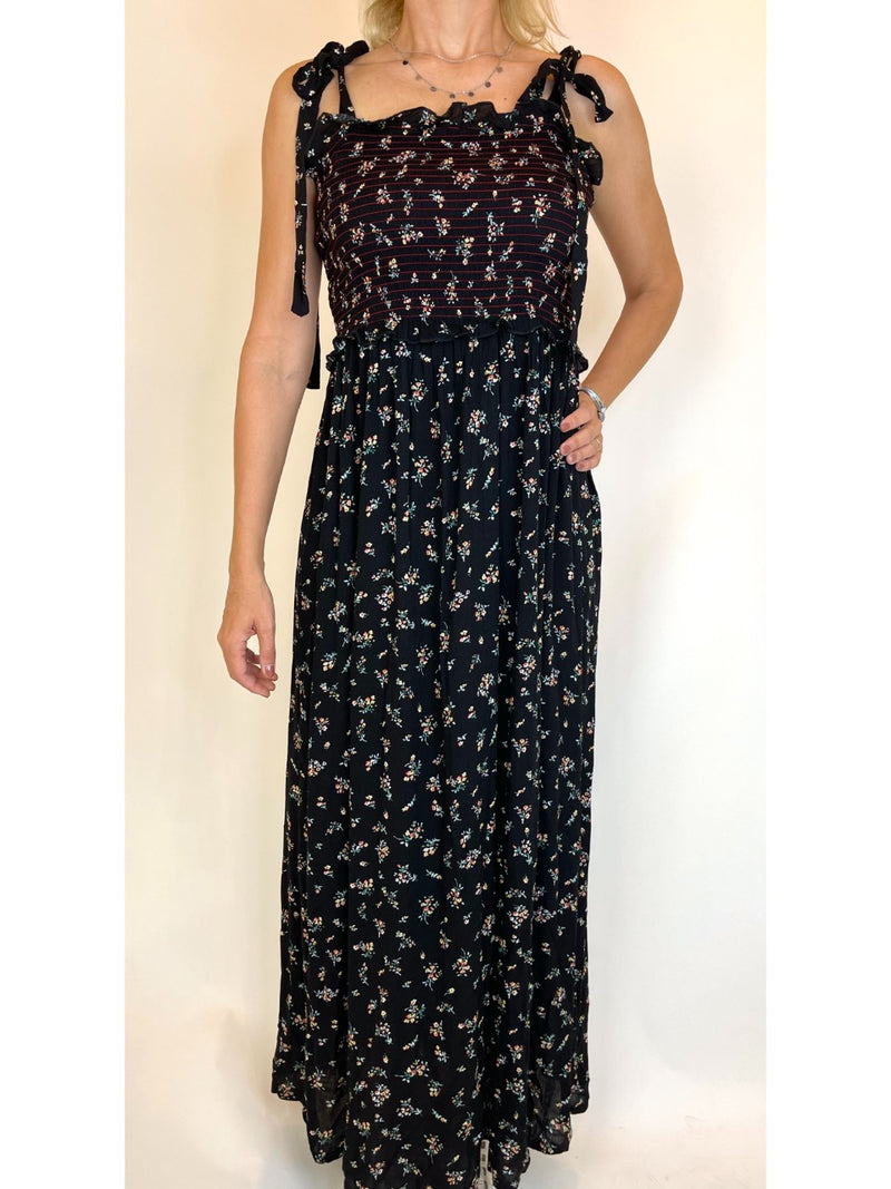 Brave Soul London Black Maxi Dress (Medium)