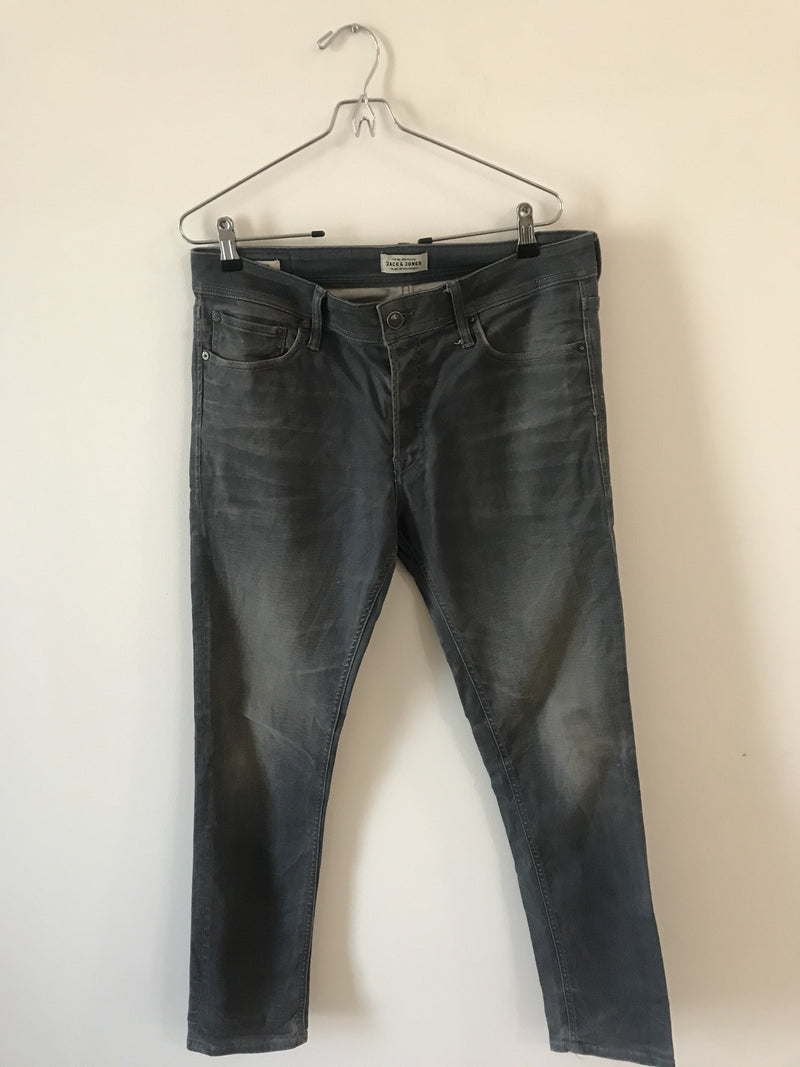 Jack & Jones Grey Jeans (Medium)