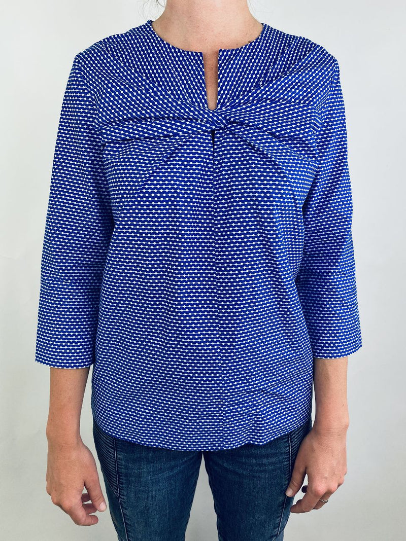 COS Blue Blouse (Small)