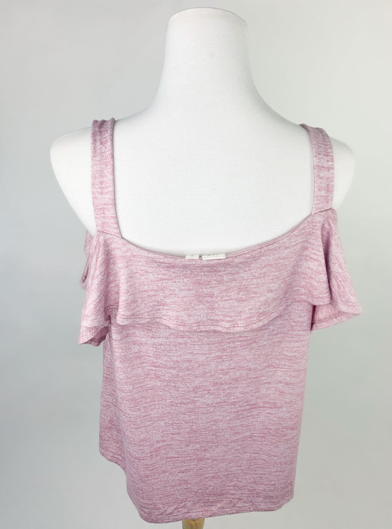 Gap Cold Shoulder Style Pink Vest Top (M)