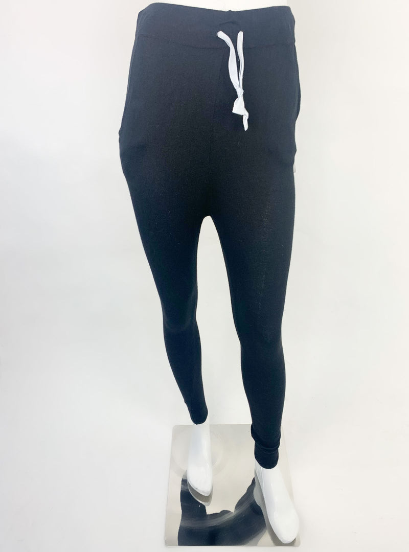 Reebok Black Woolen Sweat Pants (2XS)