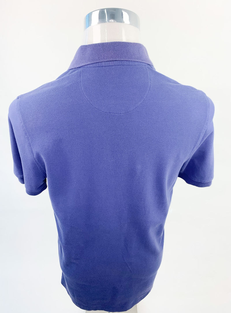 Tahari Blue Polo Shirt (Small)