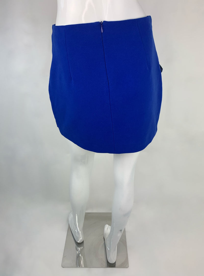 Zara Blue Mini Skirt (Medium)