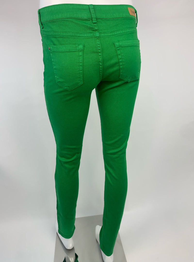 Zara Trafaluc Green Skinny Jeans (Medium)