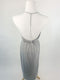 Grey Jersey Beach Dress (Medium)