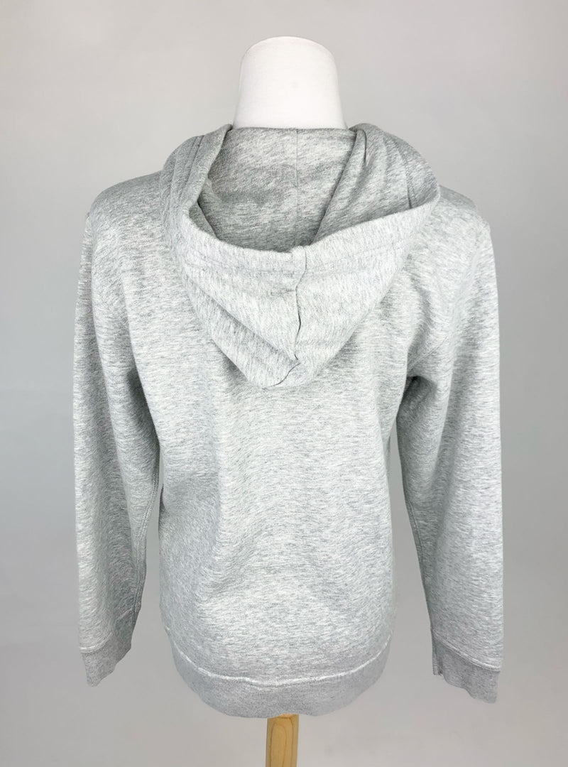 GAP Kid Light Grey Logo Hoodie Sweatshirt (Kids XL/12)