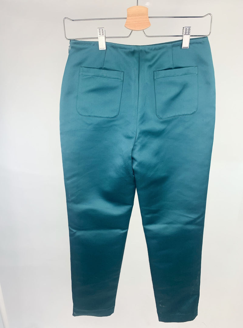Opening Ceremony Women's Green Workwear Trousers (Extra Small)