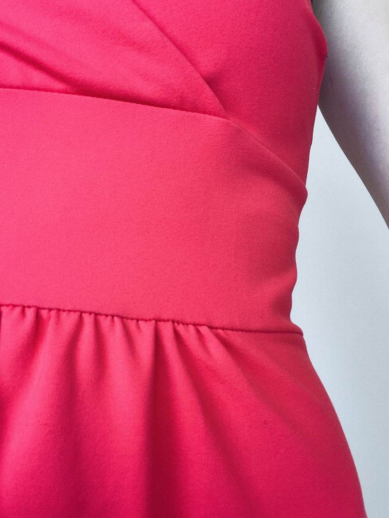 Cynthia Rowley Coral Strappy Dress (Small)