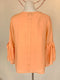 Mint Velvet orange top (Medium)