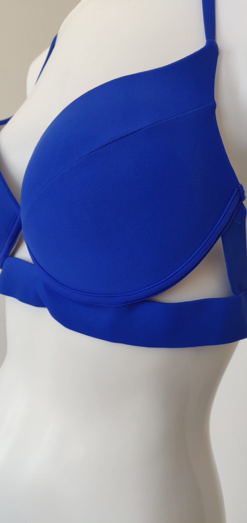 Two piece blue swimsuit (Large)