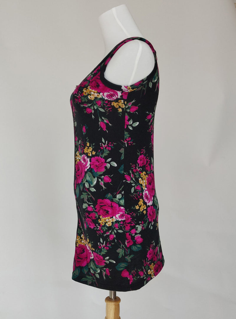 Floral Zip Up Top (Small)