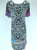 Desigual Multicoloured T-Shirt Dress (Small)