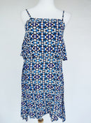 Atmosphere Blue Print Dress (XS)