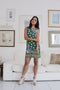 Zara Trafaluc Green Sleeveless Dress (XS)