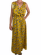 Ginger Women's Yellow Maxi Dress (Medium) - New With Tag