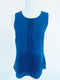 Cooper & Ella Blue Sleeveless Blouse (XS)